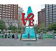 Spreading the LOVE   Photographic Print