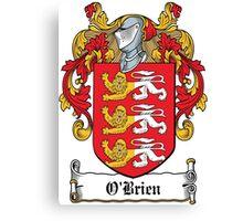 O'Brien Coat of Arms (Irish) Canvas Print