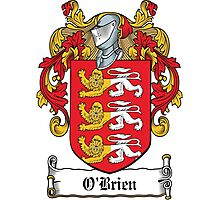O'Brien Coat of Arms (Irish) Photographic Print