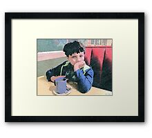 Stop.Talking.To.Me. Framed Print