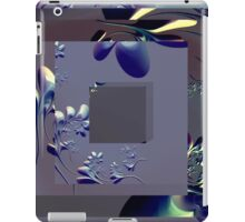 Sophisticated Freeform with Geometric Shapes iPad Case/Skin