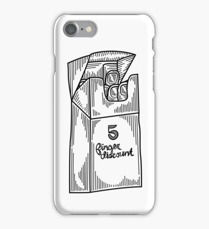 5 Finger Discount iPhone Case/Skin