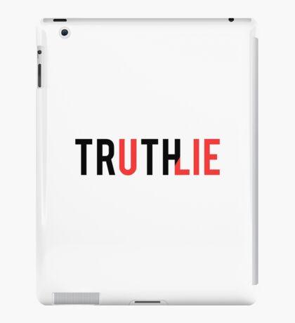 LIE + iPad Case/Skin