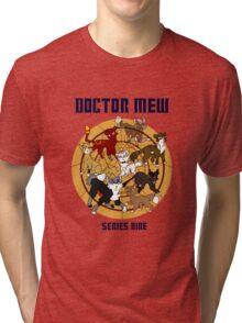 Doctor Mew Season 9 Tri-blend T-Shirt