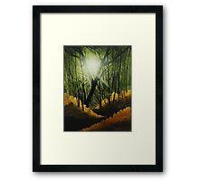 Golden Rays of Sunlight Framed Print