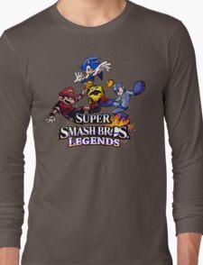 Super Smash Soccer Long Sleeve T-Shirt