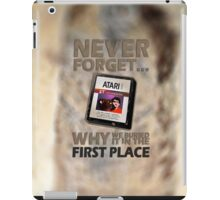 Never Forget... - Please Like and Share iPad Case/Skin