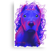 Beautiful Doggs - Pitbull Canvas Print