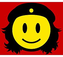 Che Guevera Smiley Photographic Print