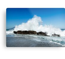 Power Display at Bloubergstrand Metal Print