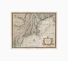 Vintage Map of The New England Coast (1747) Unisex T-Shirt