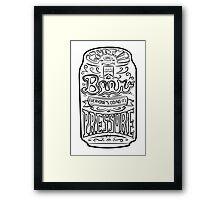 Beer Pressure Framed Print