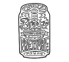 Beer Pressure Photographic Print