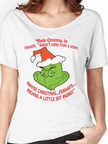 Grinch Funny Women's Relaxed Fit T-Shirt
