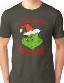 Grinch Funny Unisex T-Shirt