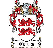 O'Clancy Coat of Arms (Clare, Ireland) Photographic Print