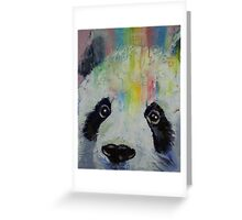 Panda Rainbow Greeting Card