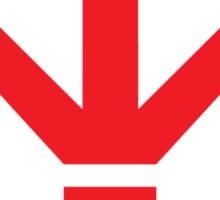 Royal Saiyan Army Crest Sticker