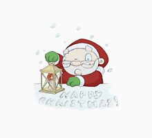 "Santa ""HAPPY CHRISTMAS"" Lantern T-Shirt"