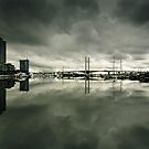Docklands and the Bolte Bridge by Andrew Wilson
