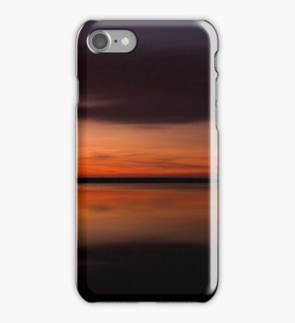 Sunset - Lake Geierswald - Germany iPhone Case/Skin