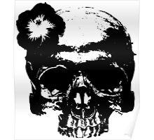 Honolulu skull Poster
