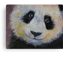 Panda Smile Canvas Print