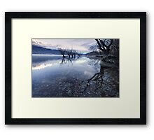 The Sisters - Glenorchy - NZ Framed Print
