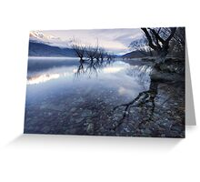 The Sisters - Glenorchy - NZ Greeting Card