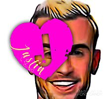 I Heart Justin Photographic Print