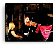 Music of Italy, Photo / Digital Painting  Canvas Print