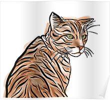 Ginger Kitty Kat v1 Poster