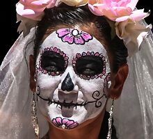 Day Of The Dead Bride,  Dia de Los Muertos Novia  by Heather Friedman
