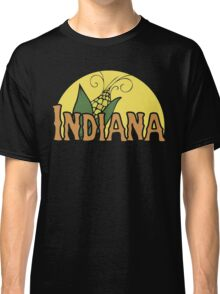 Indiana Retro Logo Classic T-Shirt