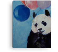 Panda Party Canvas Print