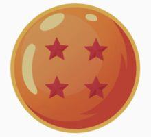 Dragon Ball / Dragonball Z / DBZ - 4 Star Ball Baby Tee