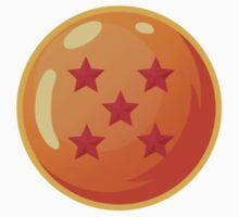Dragon Ball / Dragonball Z / DBZ - 5 Star Ball One Piece - Short Sleeve