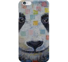 Panda Checkers iPhone Case/Skin