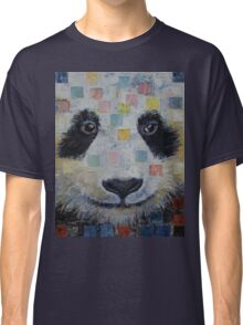 Panda Checkers Classic T-Shirt