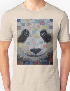 Panda Checkers Unisex T-Shirt