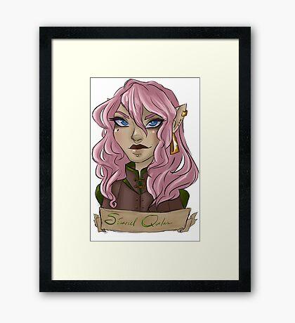 Sinariel Framed Print