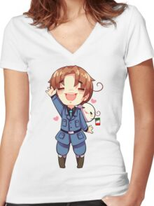 Italy - Hetalia Women's Fitted V-Neck T-Shirt