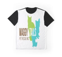 Waggy Tails Pet Rescue  Graphic T-Shirt