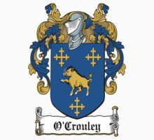 O'Crouley Coat of Arms (Connaught) by coatsofarms