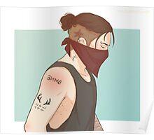 Punk Bucky Poster