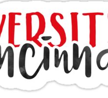University of Cincinnati - Style 1 Sticker