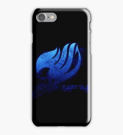 Fairytail Blue iPhone Case/Skin