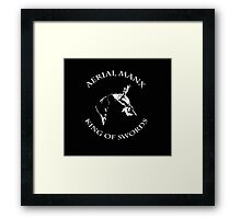 Aerial Manx - King of Swords Framed Print