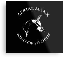 Aerial Manx - King of Swords Metal Print