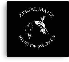 Aerial Manx - King of Swords Canvas Print